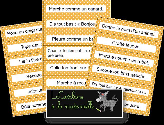 Phrases d'action 2 script - tickets d'ordres (LaCatalane)