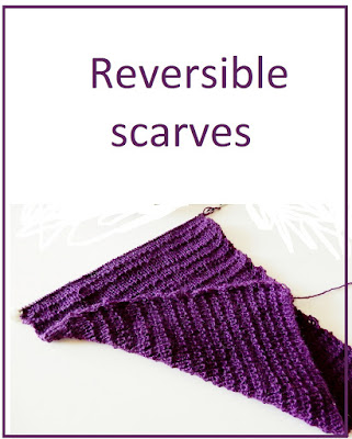 Reversible scarves - both sides look the same