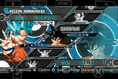 download game ppsspp dragon ball z shin budokai 5