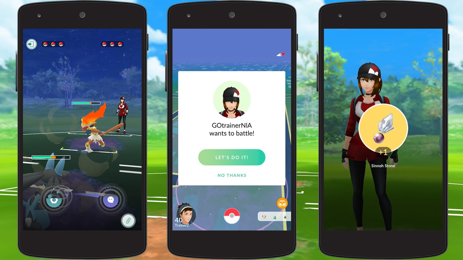 Trainer Battles  Pokémon GO Coming Soon