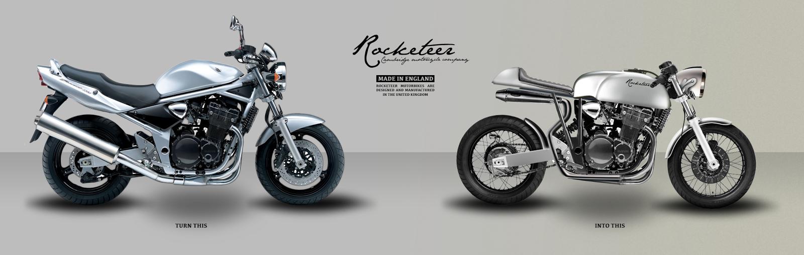 rocketeer motorcycles cambridgeshire cafe racers designs. Black Bedroom Furniture Sets. Home Design Ideas