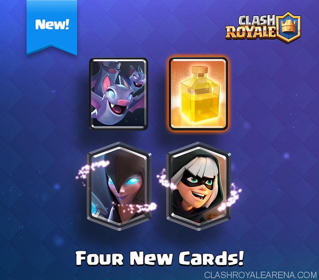 4 Kartu / Cards Terbaru Clash Royale 2017