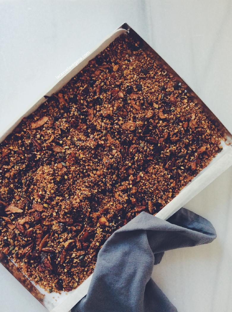 Granola de chocolate casera