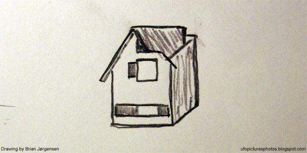 Drawing: House in the sky...
