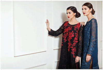Luxury chiffon embroidered suits collection