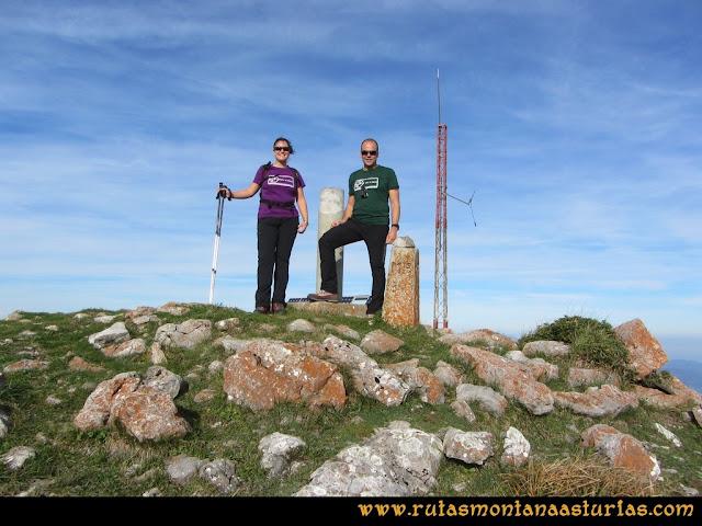 Ruta por el Aramo: Cima del Gamonal