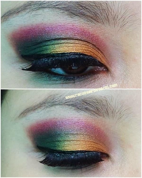 Warna Mata Sesuai Dengan Tema