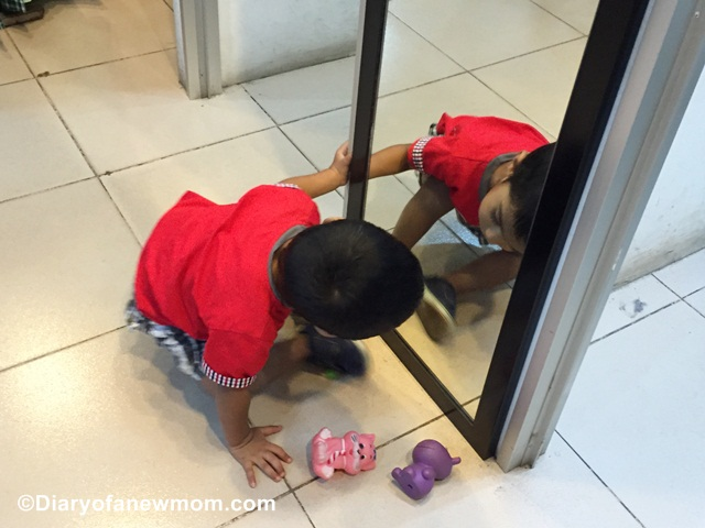 Playing with a Mirror