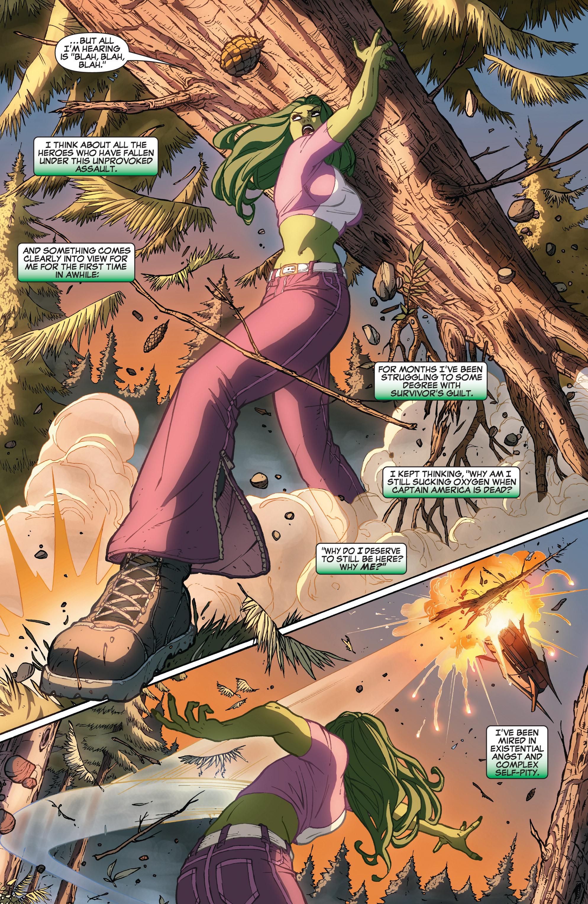 Read online She-Hulk (2005) comic -  Issue #32 - 9