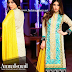 Amna Ismail Semi Stitched Linen Collection 2015-16 By Ghulam Shabbir Textile/Fall Winter Semi-Stitched Linen Dresses 2015-16