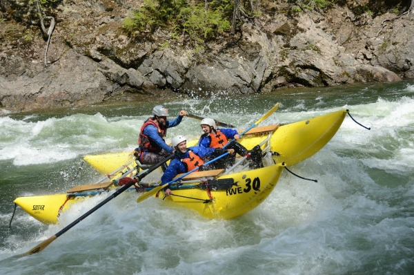 Whitewater rafting - Clearwater