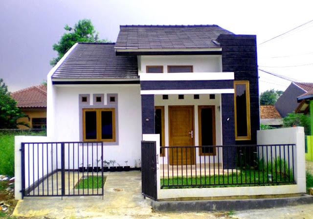 rumah kecil sederhana di kampung