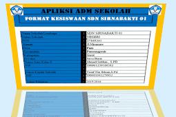 Administrasi Siswa Dalam Bentuk Aplikasi Berbasis Microsoft Excel