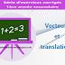 Vecteurs et translations - Série d'exercices corrigés - 1ère année secondaire