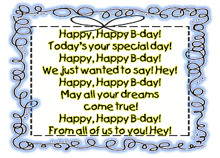 Image result for happy birthday to you song