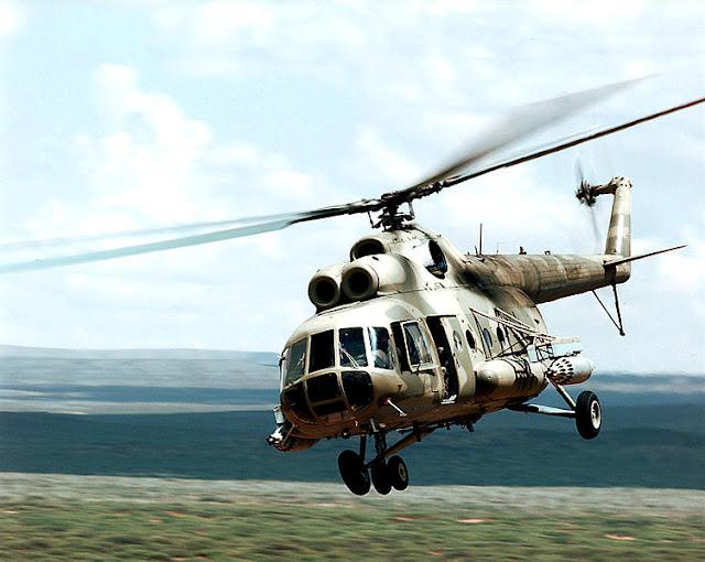Gambar 54. Foto Helikopter Angkut Militer Mil Mi-8