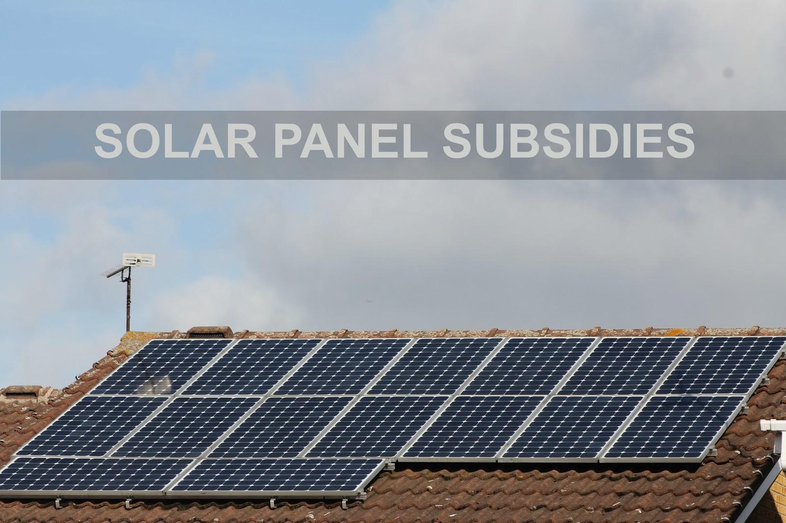 Jibberjabberuk Finance Fridays Solar Panel Subsidies