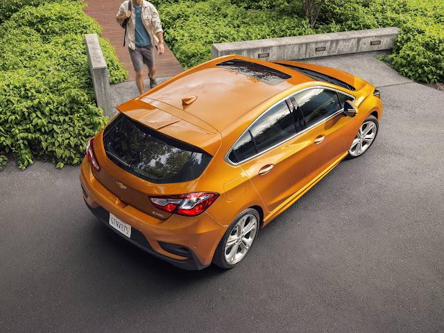 novo Chevrolet Cruze Sport6 2017