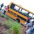 WANDERLÂNDIA: Ônibus escolar perde rodas no meio de rodovia