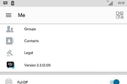 BBM MOD OFFICIAL V.3.3.12.135 Apk