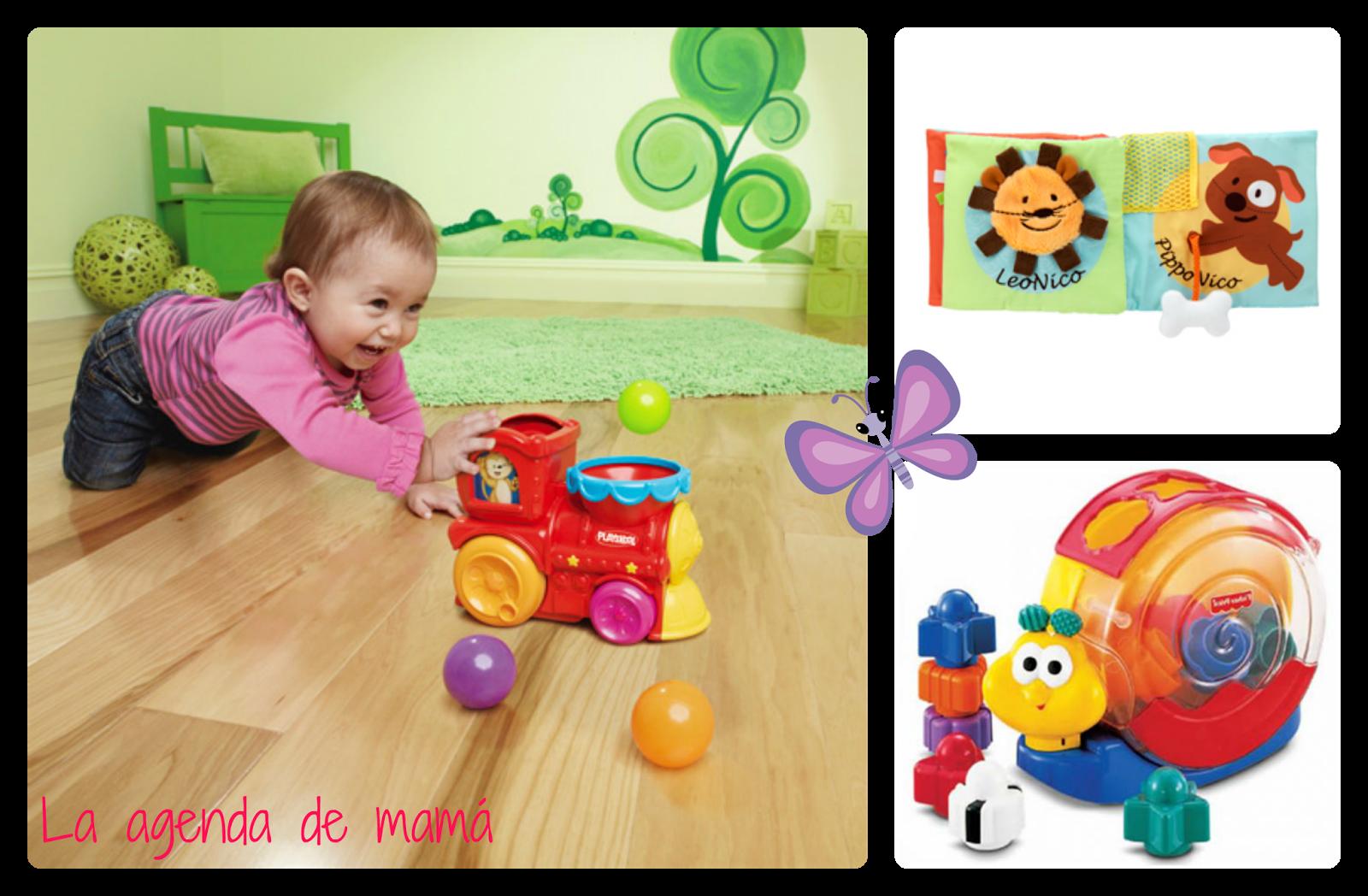 Juguetes para beb s de 6 a 12 meses la agenda de mam blog de embarazo maternidad y familia - Juguetes para bebes de 2 meses ...