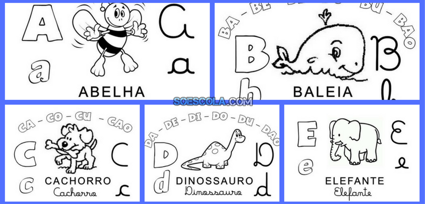 Baixe Alfabeto Familia Silabica Em Pdf So Escola