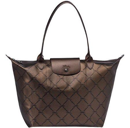 Longchamp Lm Metallic Shoulder Bag Price And Features