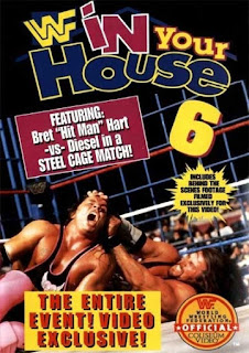WWF / WWE - In Your House 6 - Rage in the Cage Event poster