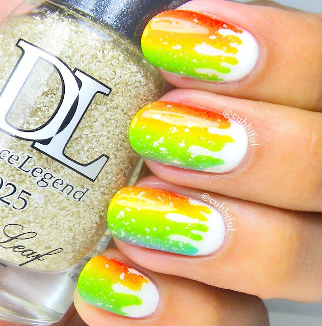 Rainbow Gradient Drips