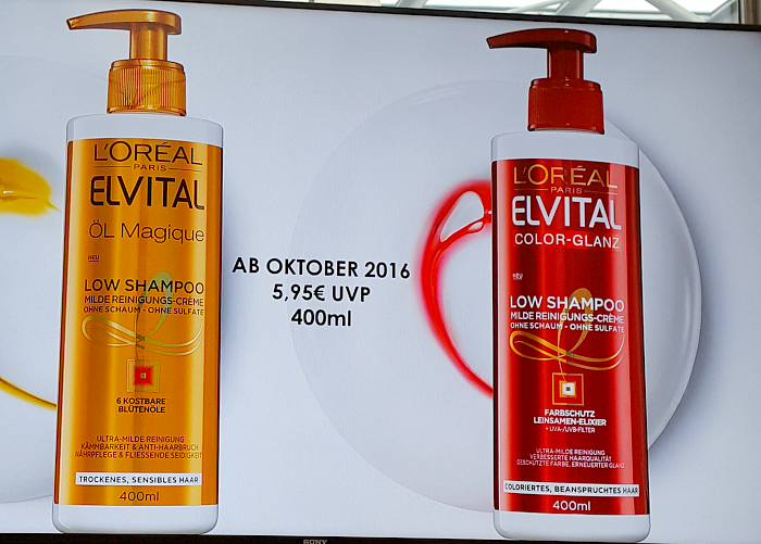 L´Oréal Paris Blogger Event am Tegernsee - Elvital Low Shampoo Öl Magique & Color Glanz