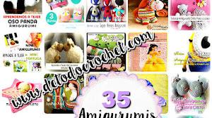 35 Amigurumis para Tejer / Tutoriales de colección