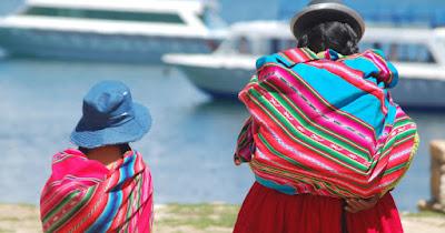 Cholitas en Bolivia.