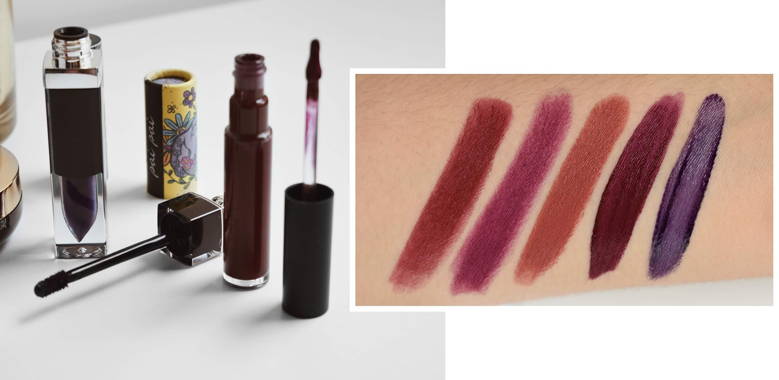 fall autumn lipsticks must have beauty makeup hacks maquillaje otoño labiales obscuros vampy lips burgundy purple morado 4