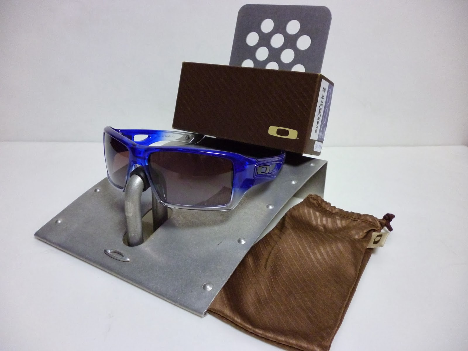 3f3f6d8f054 Sam s Oakley Collection from SG Singapore  OAKLEY EYEPATCH 2 BLUE ...