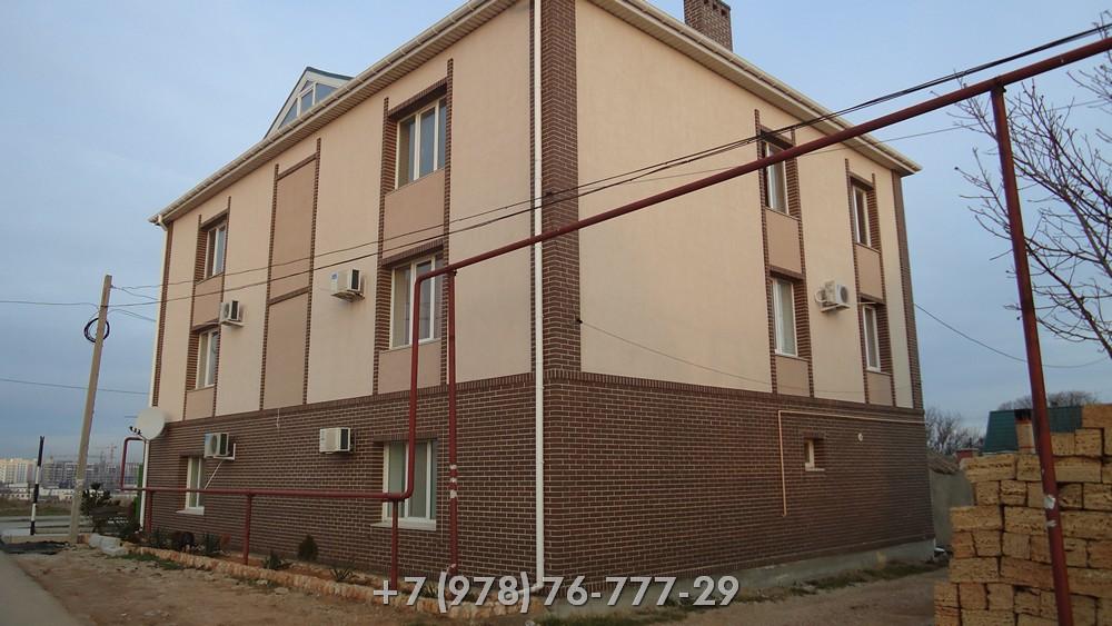 Строительство кирпичного жилого дома