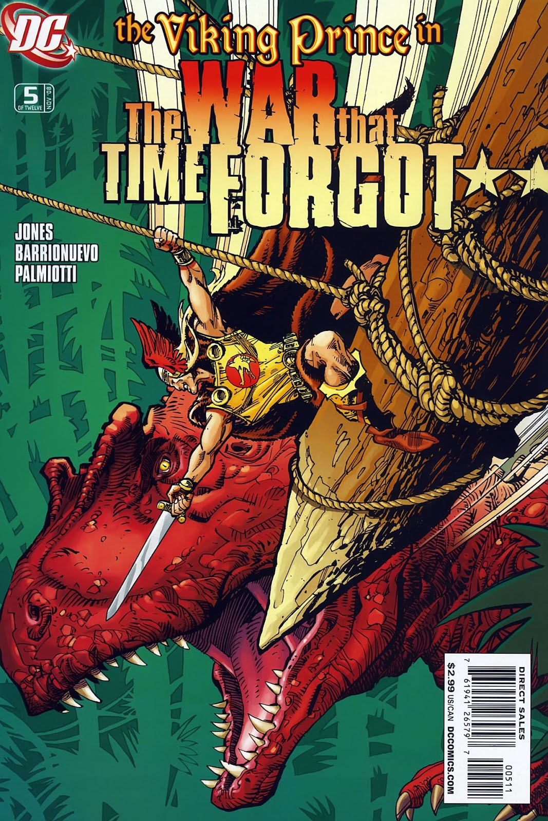 The War That Time Forgot issue 5 - Page 1