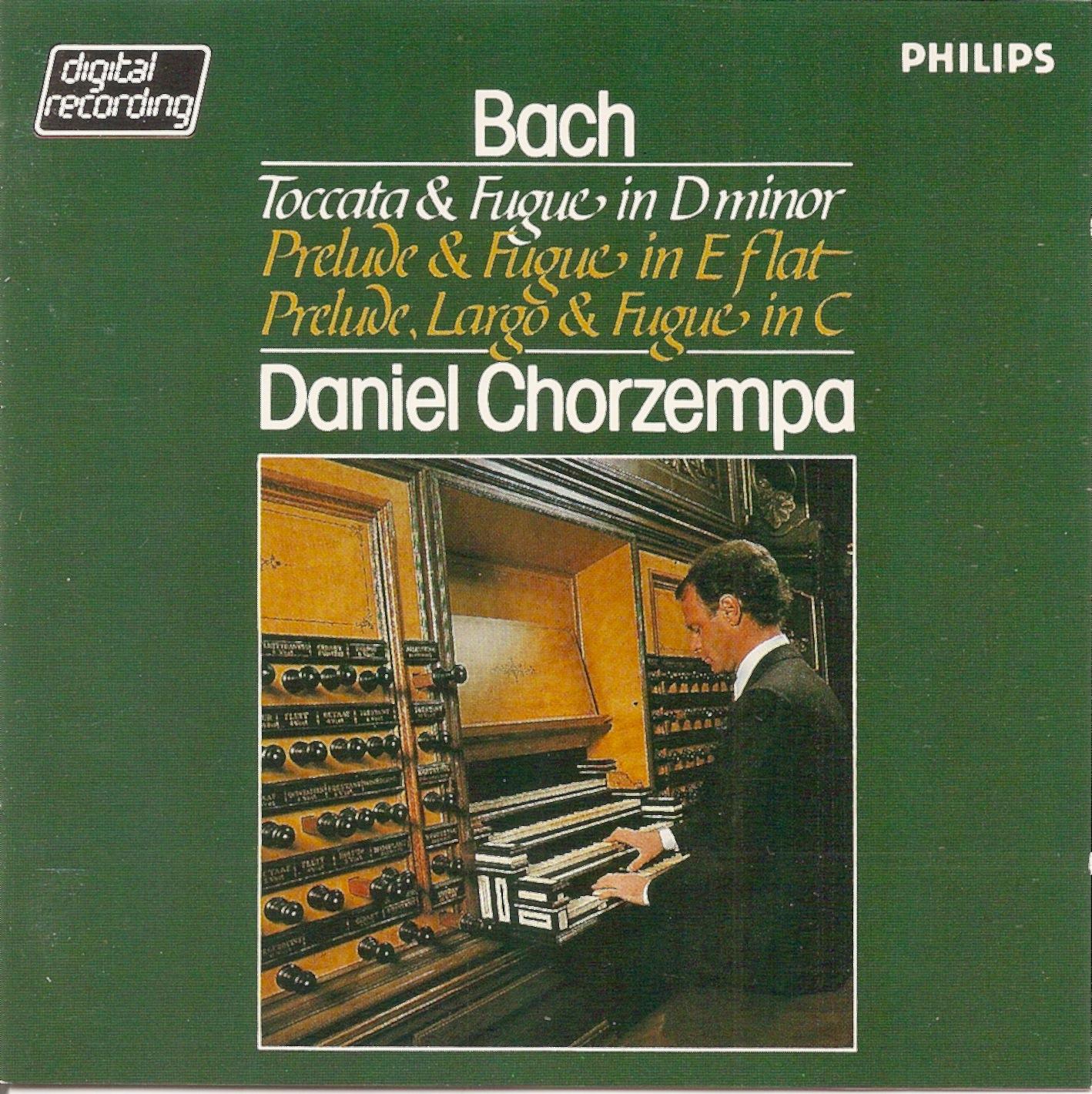 Passacaglia and Fugue, for organ in C minor, BWV 582 (BC J79)
