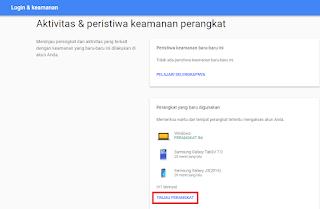 Cara Logout Akun Google di Perangkat Lain Jarak Jauh