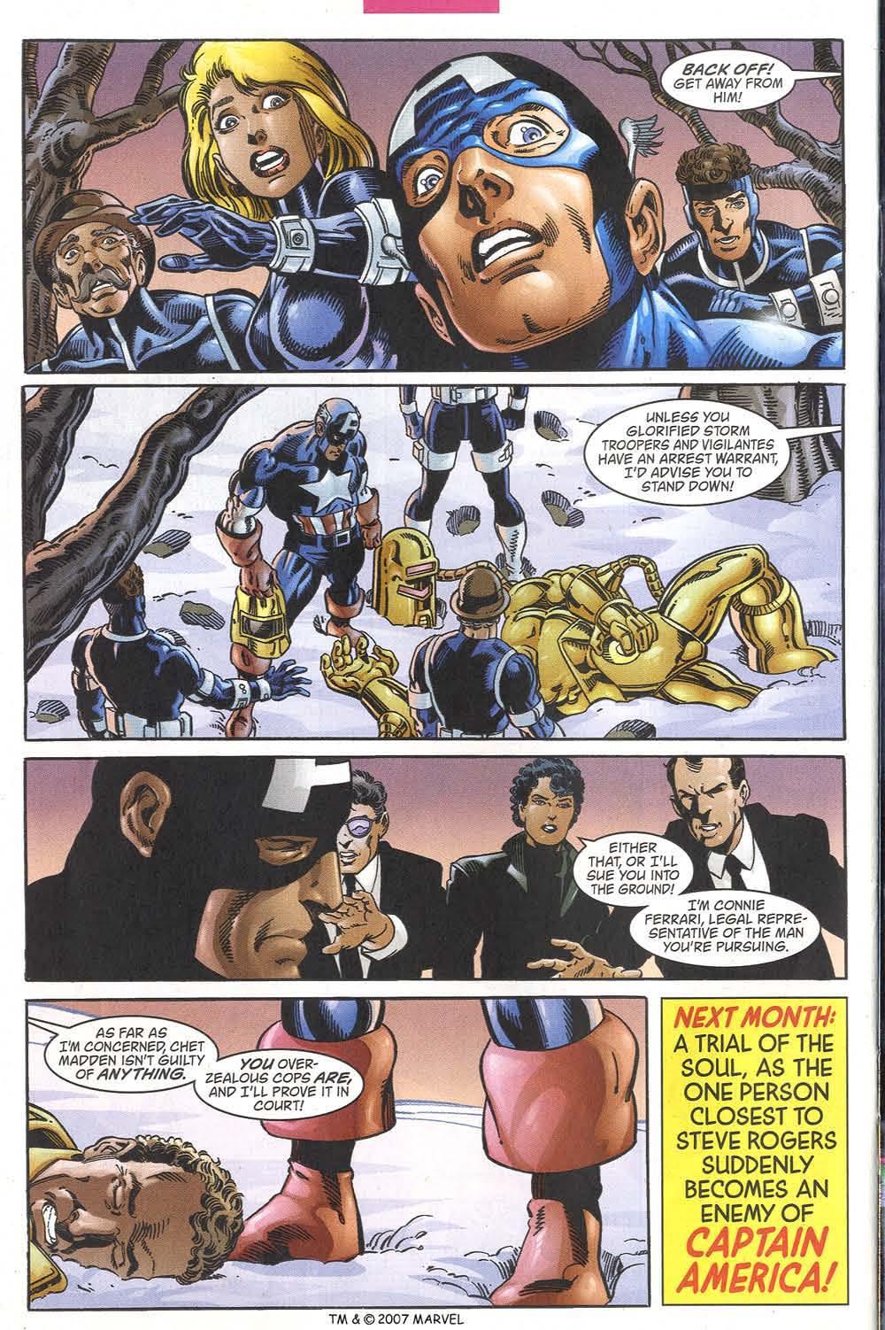 Captain America (1998) Issue #39 #46 - English 34