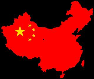 """Flag map of the People%2527s Republic of China - La China metterà fuori legge molte VPN non """"autorizzate"""""""
