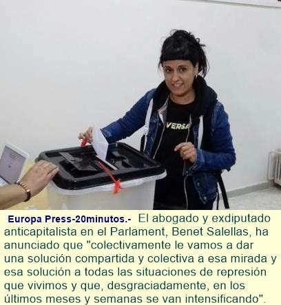 """Anna Gabriel se queda en Suiza: """"No iré al Supremo"""""""