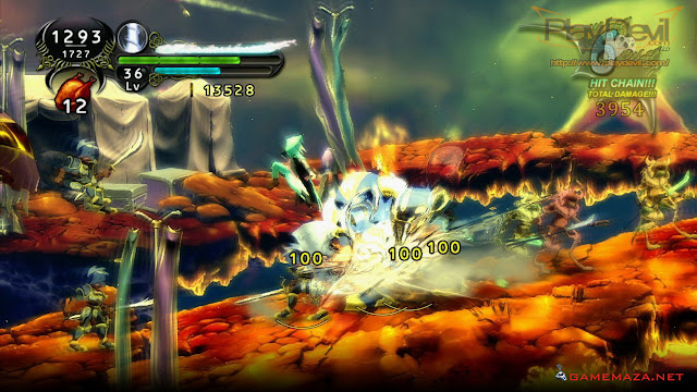 Dust an Elysian Tail Gameplay Screenshot 2