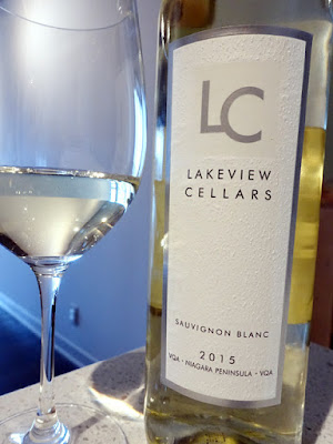 Lakeview Cellars Sauvignon Blanc 2015 (87 pts)