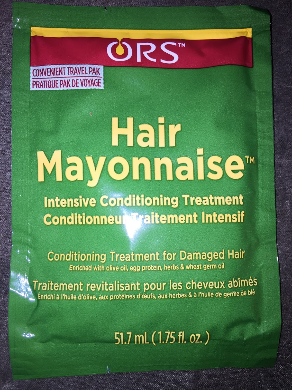 I Am A Fan Of The Ors Olive Oil Replenishing Conditioner So Decided To Give Their Hair Mayonnaise Try Whenever Deep Condition My Always Do