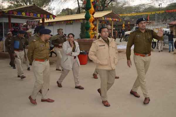 cp-and-dcp-faridabad-reach-surajkund-mela-for-final-rehearsal-security