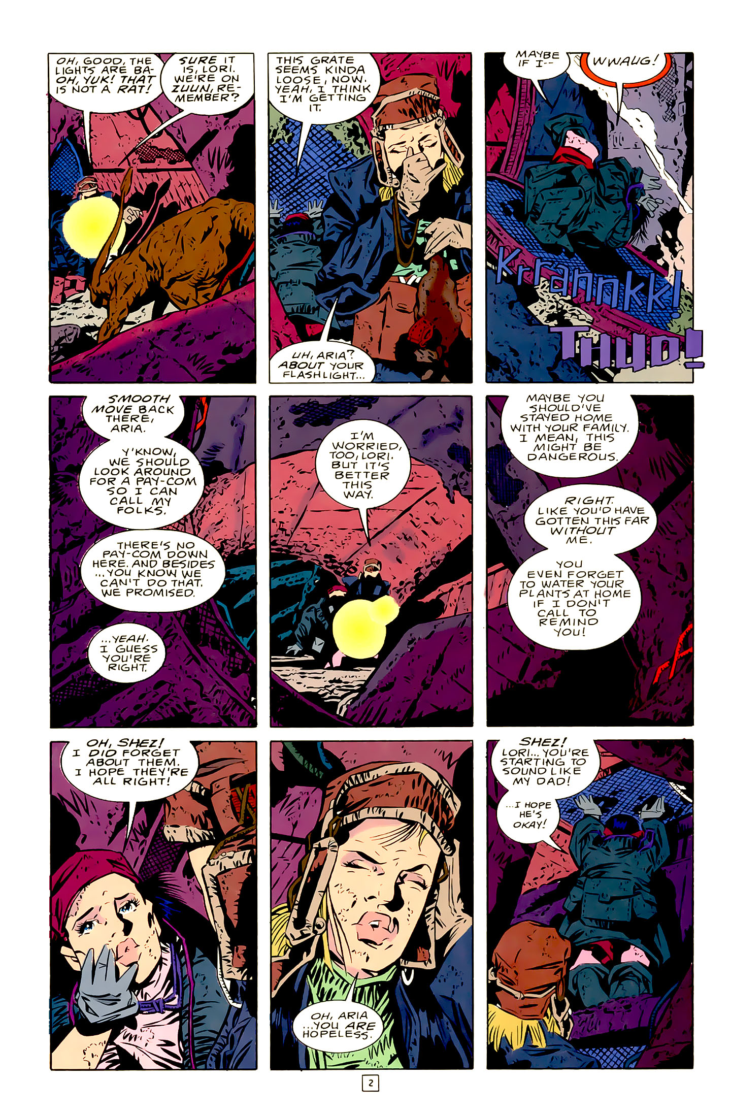 Legion of Super-Heroes (1989) 21 Page 2