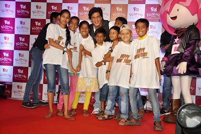 Shah Rukh Khan at KidZania's Children's Month celebration