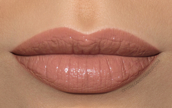 MAC Liptensity Lipstick Swatch Clouds In My Coffee