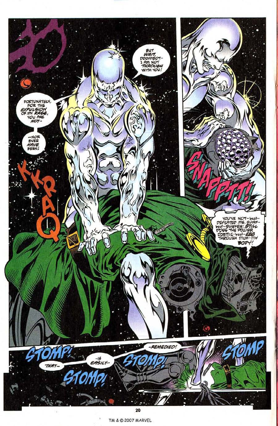 Silver Surfer (1987) Issue #108 #116 - English 22