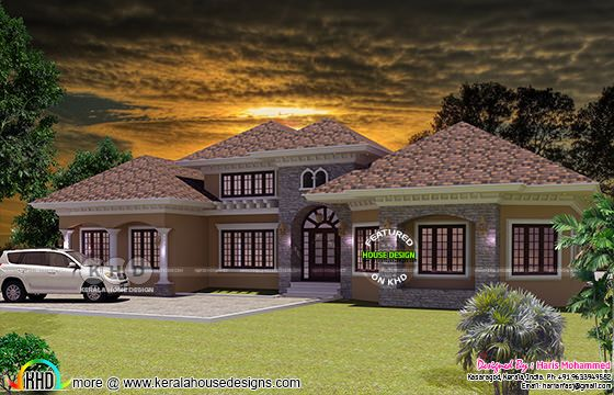 Day view of bungalow